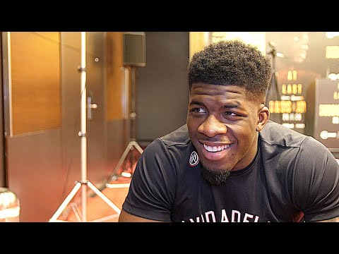 'BLOODY HELL, HE'S A UNIT!' - when David Adeleye met ANTHONY JOSHUA