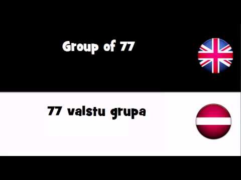 TRANSLATE IN 20 LANGUAGES = Group of 77