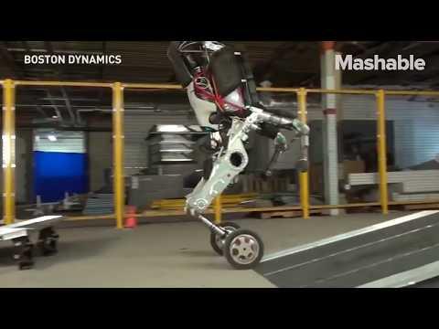 Parkour Robot by Boston Dynamics