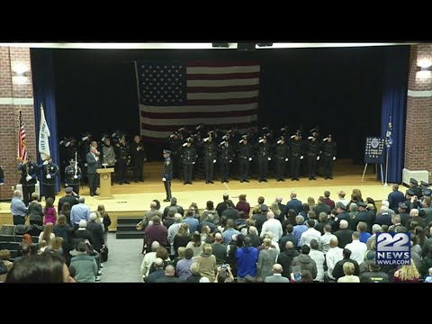 35 police cadets graduate from Chicopee academy