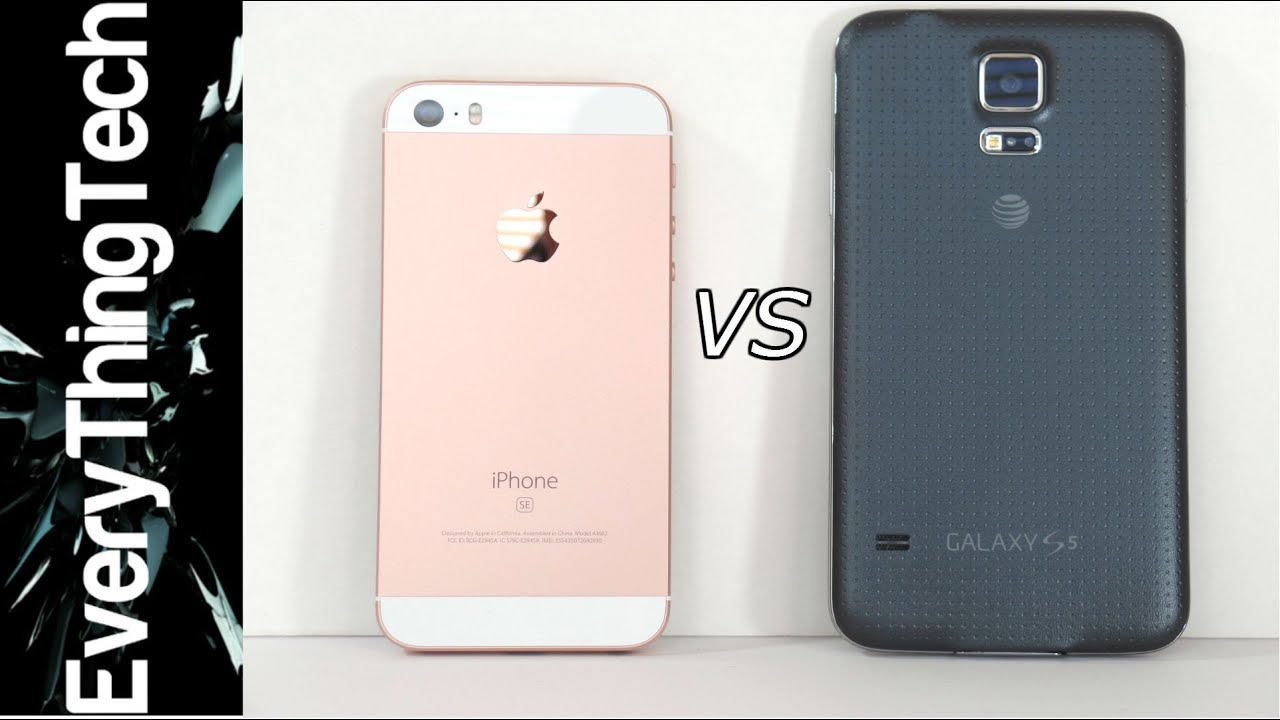 iphone se vs galaxy a3 2019