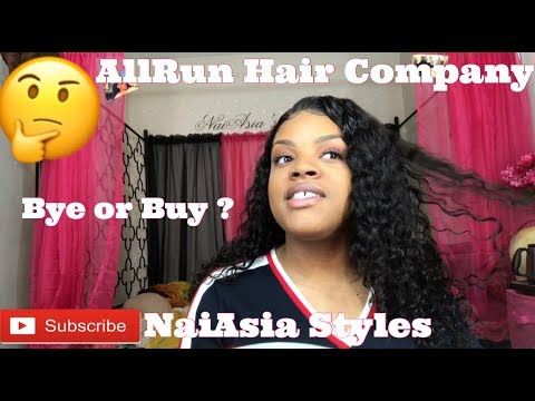 AllRun Hair Company (ALIEXPRESS) Review