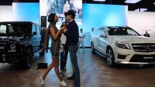 Показ аксессуаров Mercedes на Московском Автосалоне