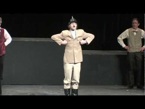 The Producers- Haben Sie Gehört Das Deutsche Band?/ Audition Scene