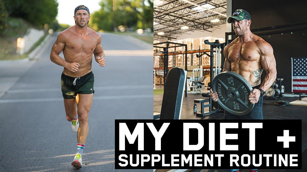 My Daily Diet & Supplement Routine | RUNNING + WEIGHT TRAINING