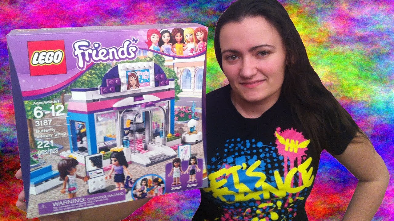 lego friends beauty salon instructions