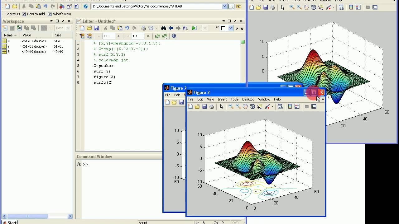 MatLAB programming, Tutorial 11: colormaps, contour, quiver