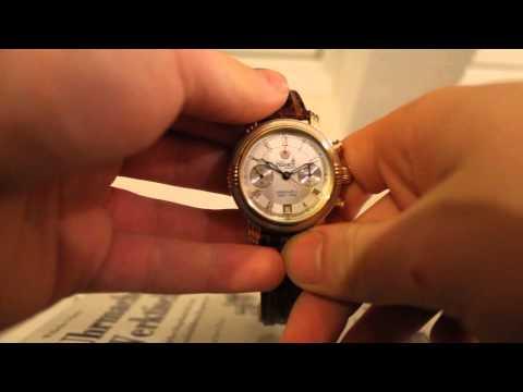 Poljot Nikolai II Chronograph Wristwatch Russian