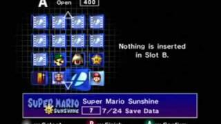 Nintendo Gamecube menu walkthrough