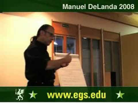 Manuel DeLanda. Materialism, Experience and Philosophy. 2008 2/12