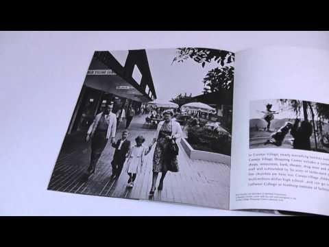 Orig. 1960's Rancho Conejo California Real Estate Brochure Thousand Oaks Calif.