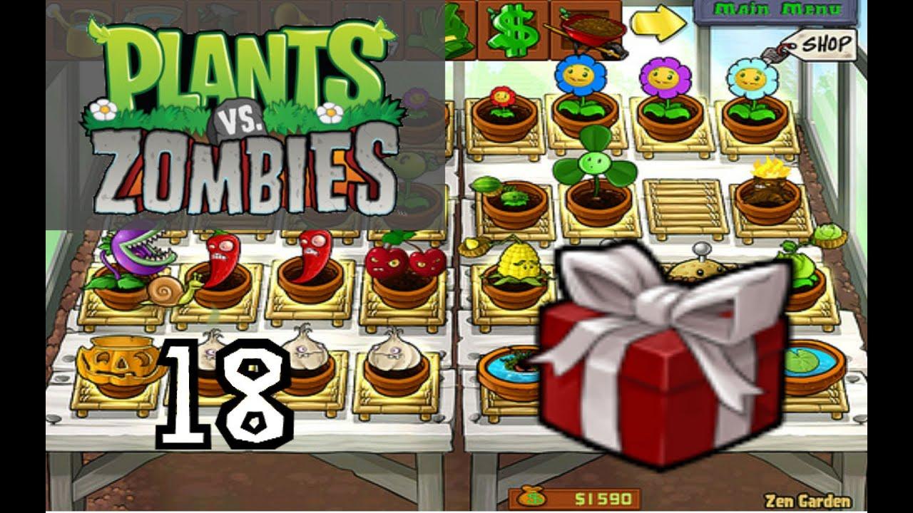 """Plants Vs. Zombies - Part 18 """"Zen Garden Get!"""" - YouTube"""