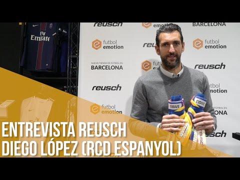 Entrevista Reusch Diego López (RCD Espanyol) from YouTube · Duration:  5 minutes 8 seconds