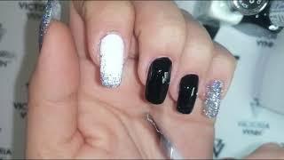Сам себе мастер часть 2 красим ногти после коррекции