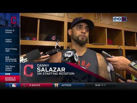 Austin Jackson and Danny Salazar praise Cleveland Indians' rolling starting rotation