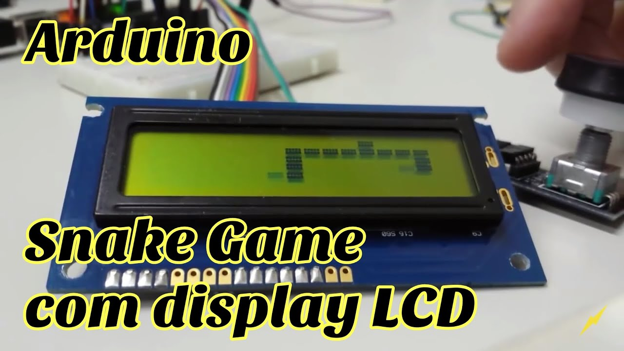 Arduino snake game com lcd e rotary encoder youtube