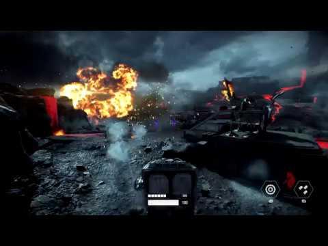 Star Wars Battlefront 2. Level 10 - Cache Grab. Xbox One X