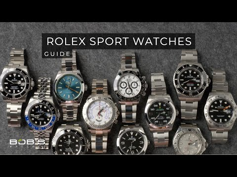 Rolex Sport Watches Guide | Bob's Watches