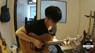 山林道 Fingerstyle Acoustic Guitar Cover (連譜) - 謝安琪 Kay Tse (港音街 Talkmusic)