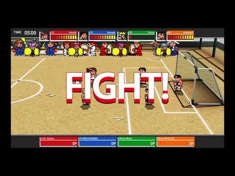 River City Melee : Battle Royal Special - Online Match # 2 |