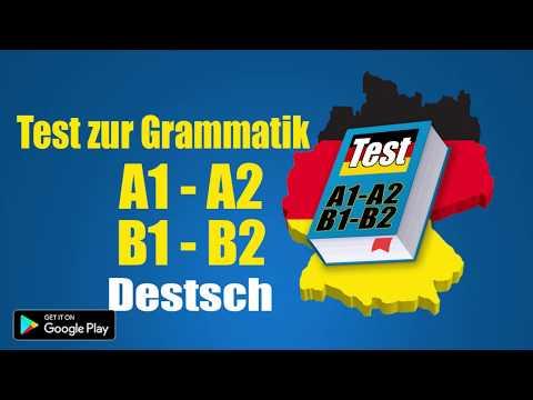 test zur deutsch grammatik a1 a2 b1 b2 apps on google play. Black Bedroom Furniture Sets. Home Design Ideas