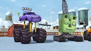 Мультики   Трактаун   Зимний сборник   Мультфильмы для детей про машинки   грузовики