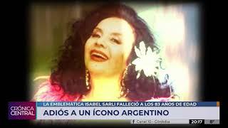 """A los 83 años falleció Isabel """"la Coca"""" Sarli"""