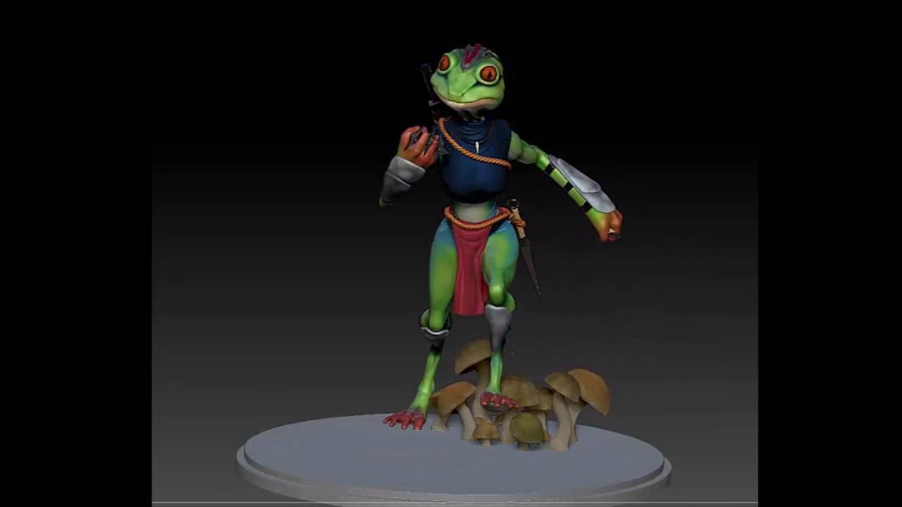 Ninja Frog Girl Youtube