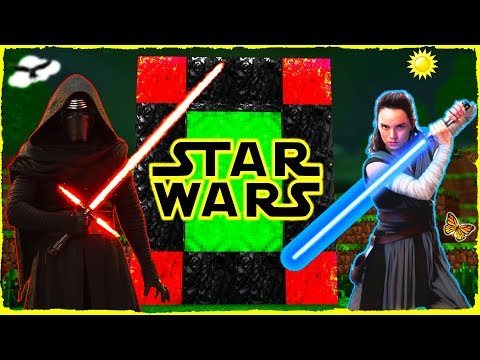 Minecraft Star Wars - How to Make a Portal to STAR WARS!