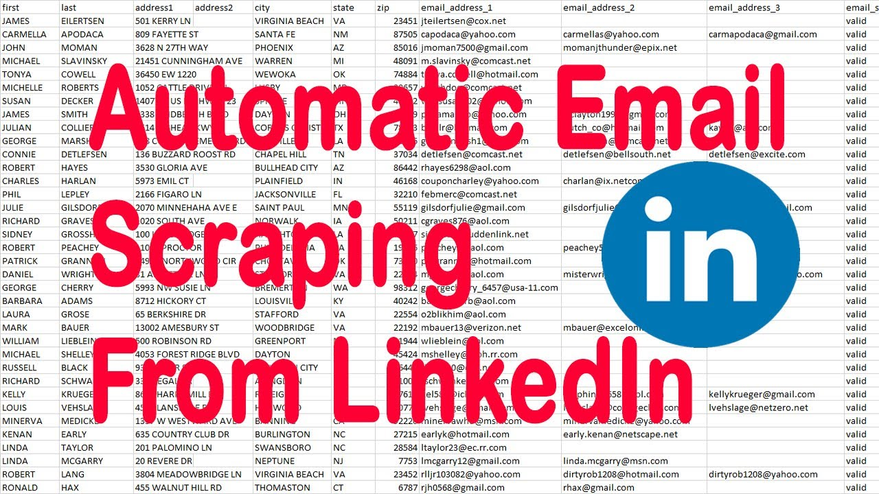 How to Get Email From Linkedin - Extract Email Address From Linkedin