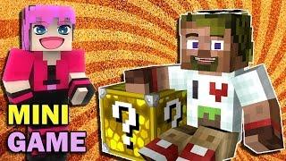 ч.02 Lucky Block Wars Minecraft - Кошкин Домик на Острове (Эпик!!!)