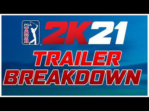 PGA Tour 2K21 Trailer Breakdown