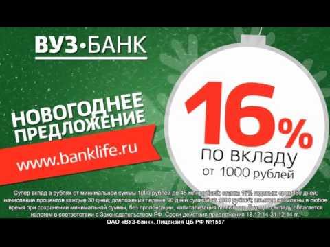 - выгодные вклады в банках Москвы и России