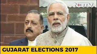 Counting Begins, BJP Ahead in Early Leads In Gujarat