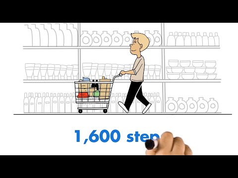 """Florida Department of Health - """"10,000 Steps"""" animation"""