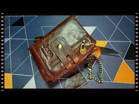 Кожаный кошелёк JEEP (с гравировкой).