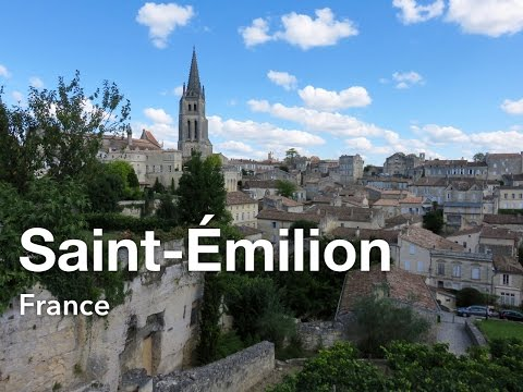 Saint-Émilion – Day trip from Bordeaux, France