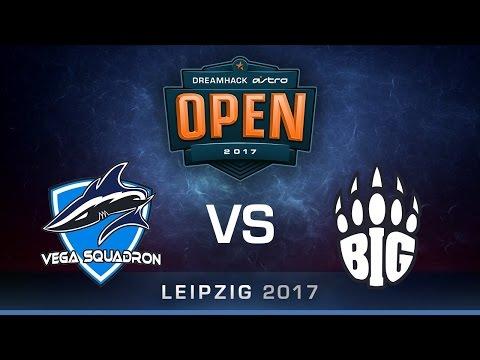 Vega Squadron vs BIG [Map 1 BO3] DreamHack ASTRO Open Leipzig 2017