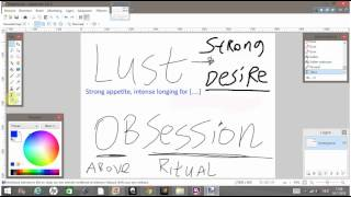 Obsession and lust explained