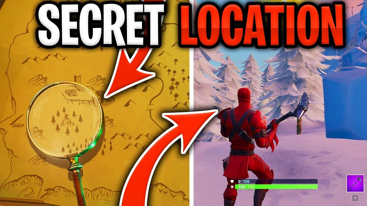 where is the magnifying glass in fortnite
