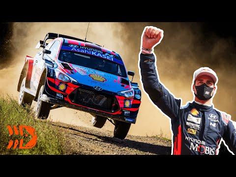 Dani Sordo WINS WRC Rally Italy 2020!