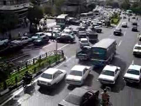 Watch : Tehran Traffic