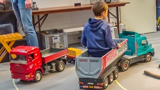 HUGE RC trucks and more in gigantic 1/8 scale!