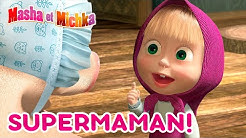 Masha et Michka👱‍♀️ SuperMaman ! 👶🍼 Masha and the Bear 👍