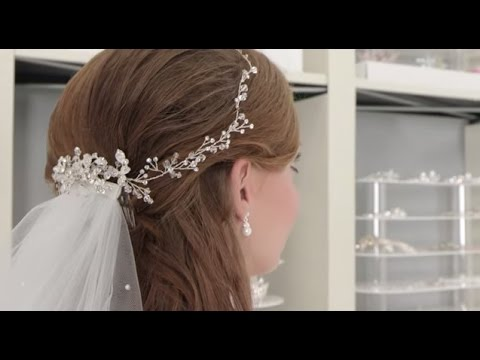 Ways To Wear Hair Vines And Bridal Combs With A Veil Youtube
