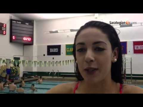 VIDEO Saratoga Springs senior Maddison Feeley talks about the upcoming state swim meet.