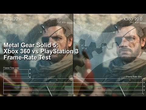 Metal Gear Solid 5: Xbox 360 vs PS3 Gameplay Frame-Rate Test