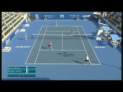 Full Match: Barty / Bobusic vs Bengson / Moore, Moorilla Hobart International 2013