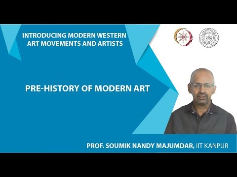 Lecture-2: Pre-history of Modern Art