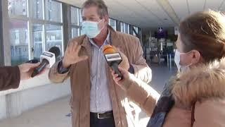 Il sopralluogo con intervista del commissario ad acta Angelo Giustini all'ospedale Cardarelli